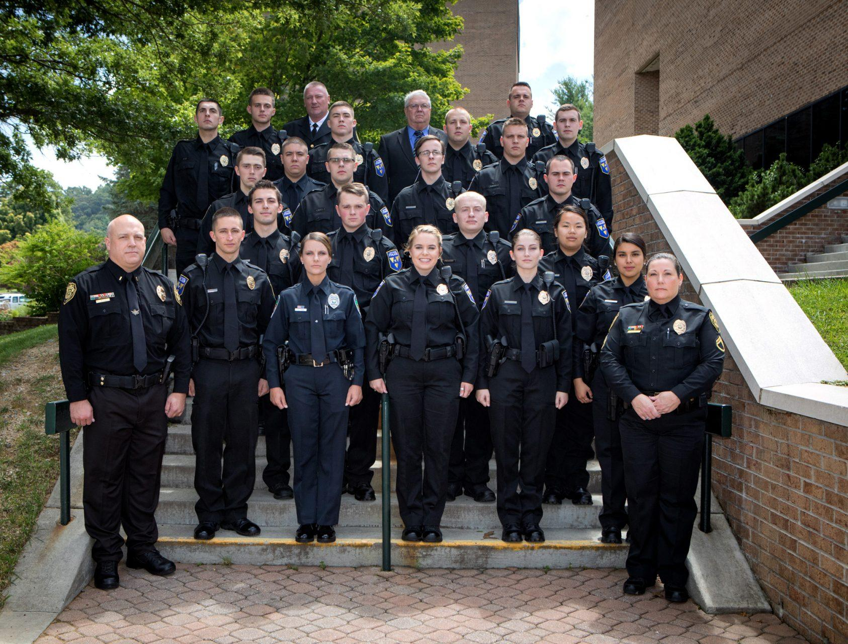 Former police cadets reflect on law enforcement training
