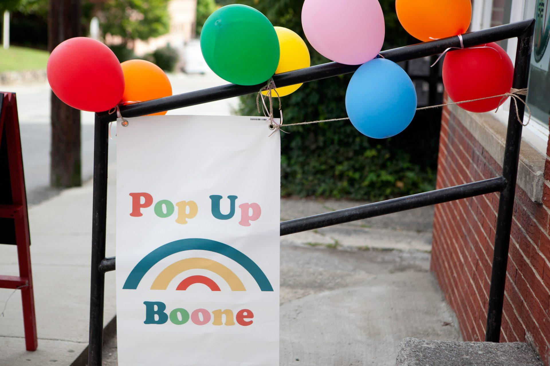 Pop Up Boone holds third artisan market