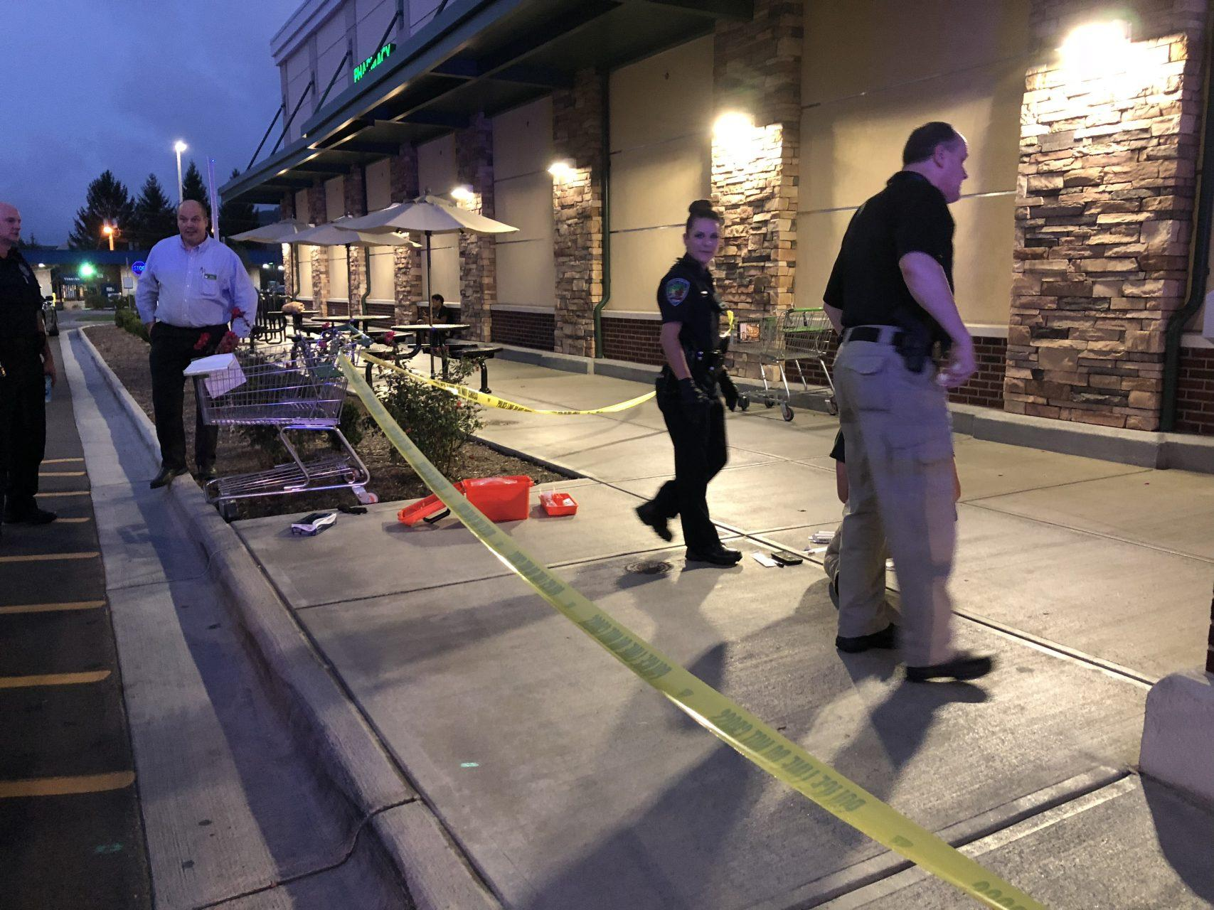 Stabbing at Publix leaves one wounded