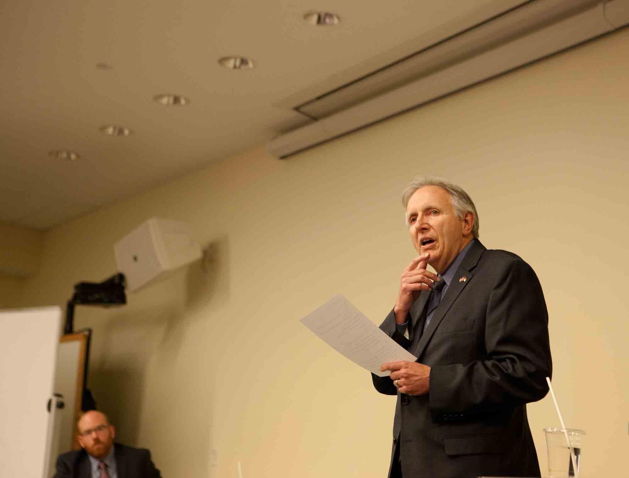 App State professor seeks 93rd District seat
