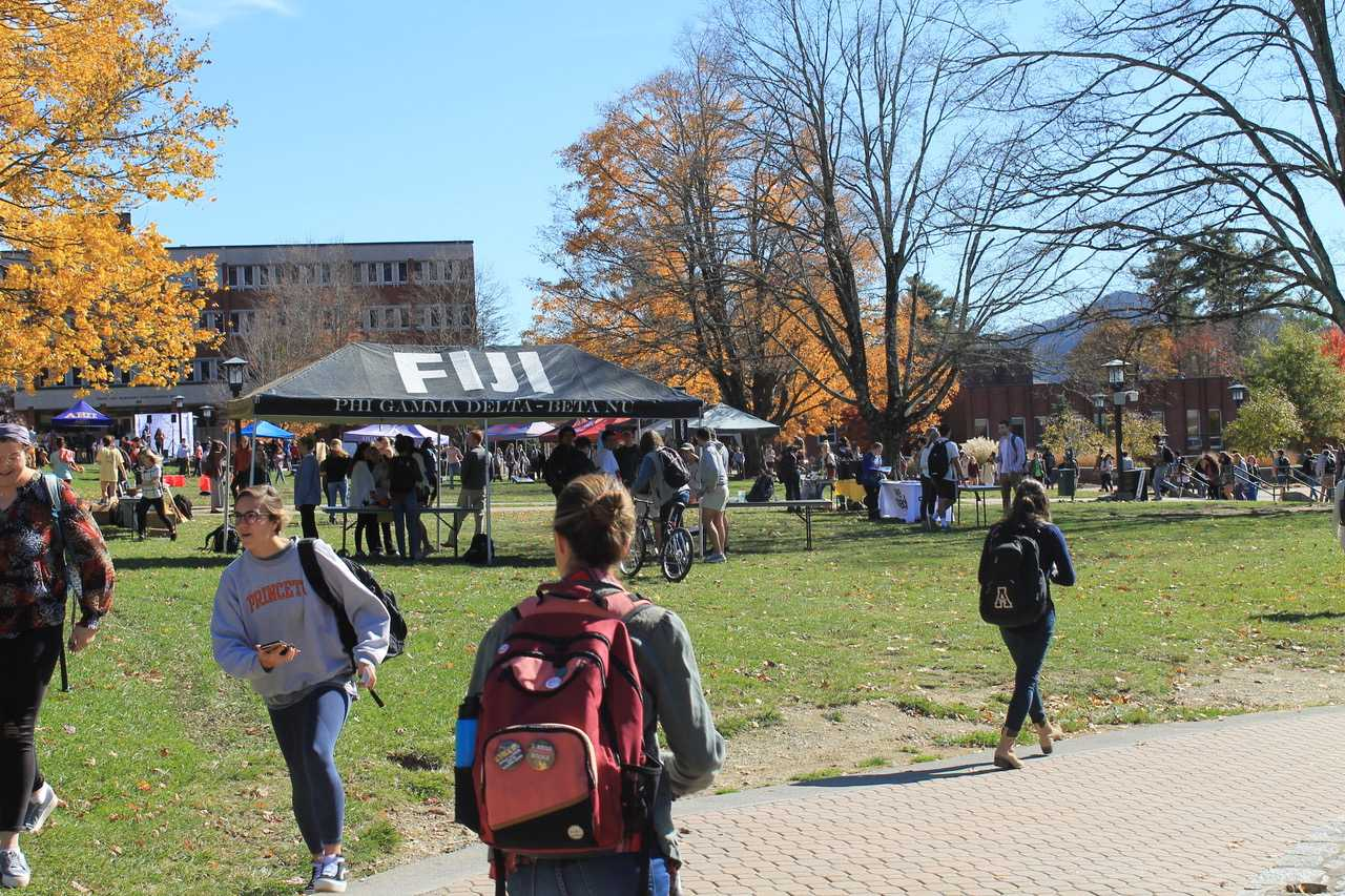 Mental Health Ambassadors partner to host Fall Fest on Sanford Mall
