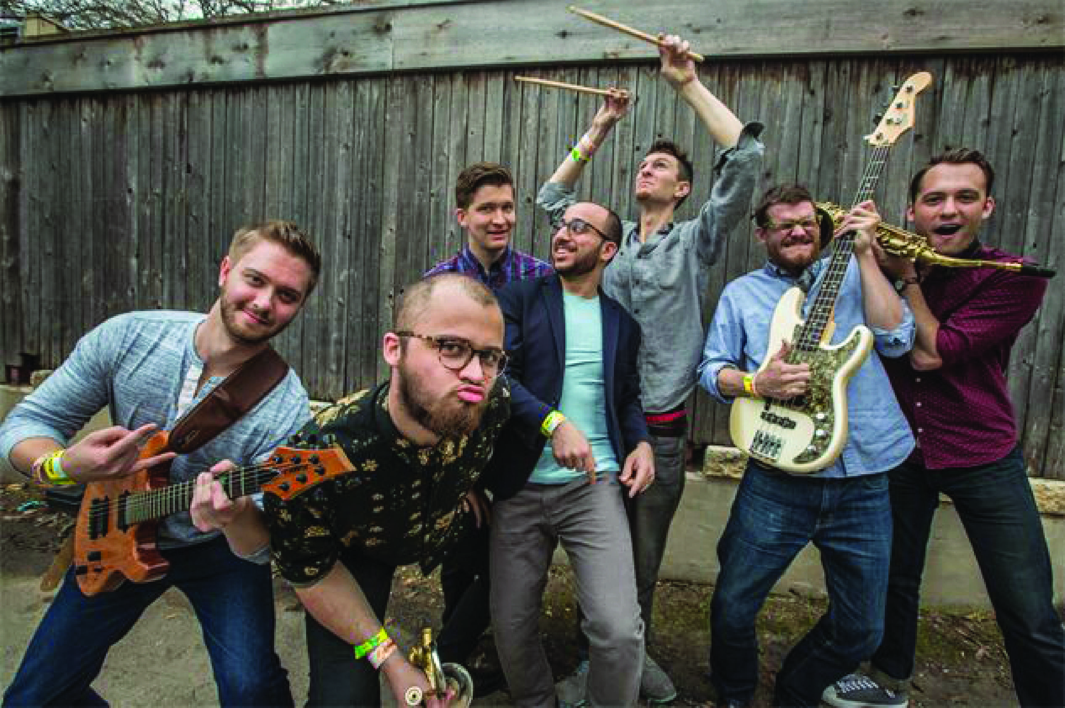 Chicago band Bassel and The Supernaturals. The group is performing at Boone Saloon on Nov. 17.