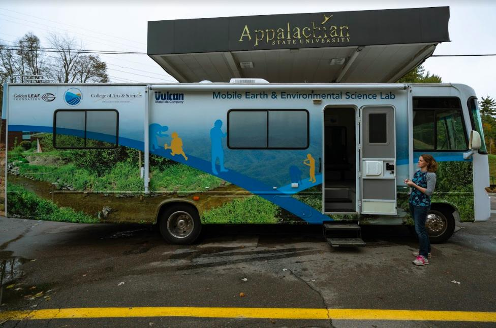 Renovated RV creates educational opportunities for Department of Geological and Environmental Sciences