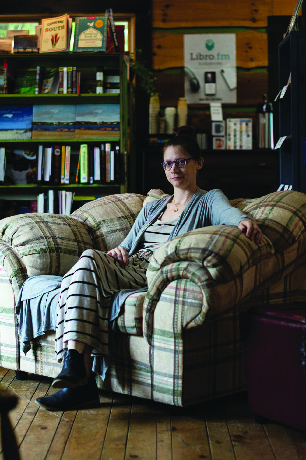 Mary Ruthless has been the owner of Foggy Pine Books since she first opened the store in May of 2016. Ruthless is an avid reader and an Appalachian State alumni.