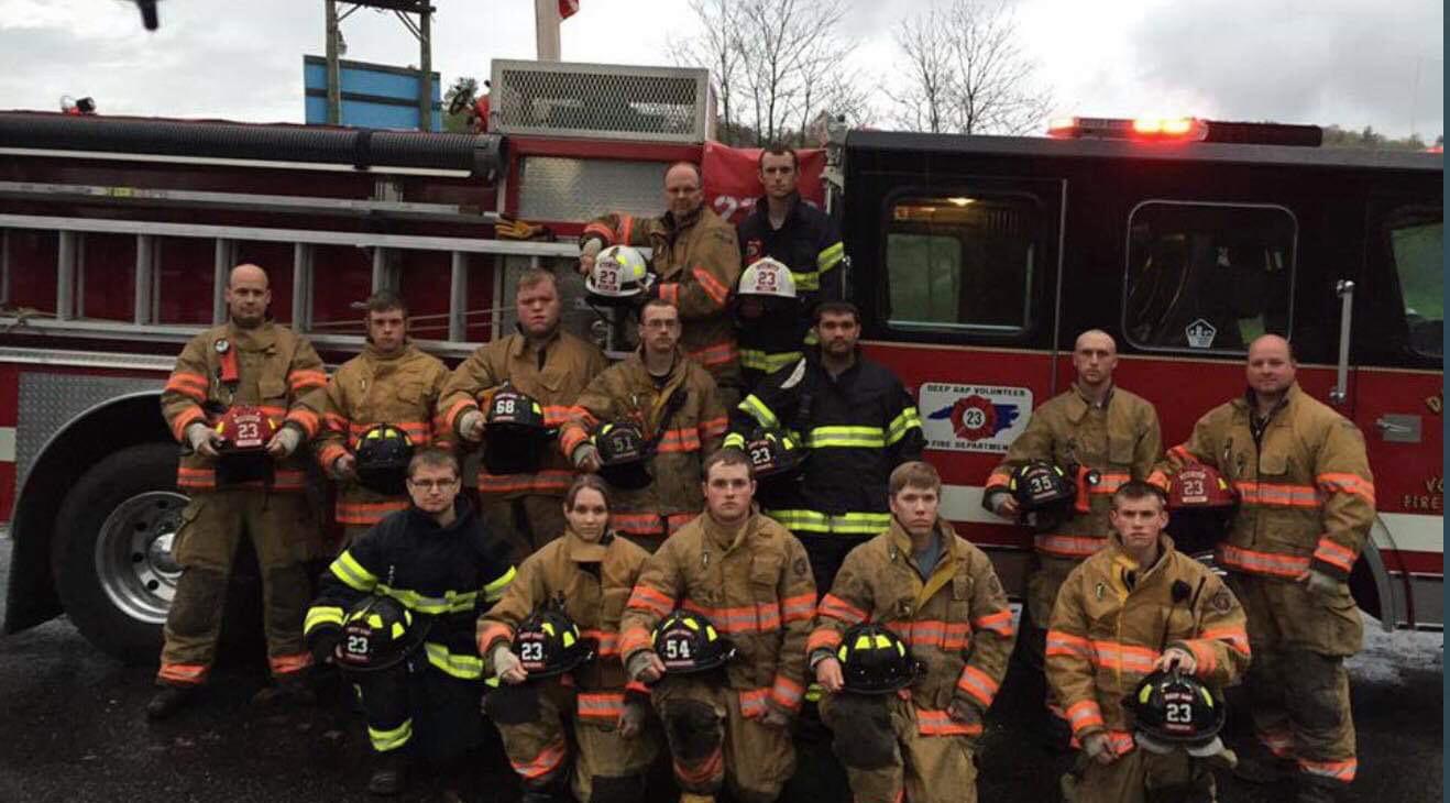 Student firefighter balances classes and a risky job at Deep Gap Fire Department