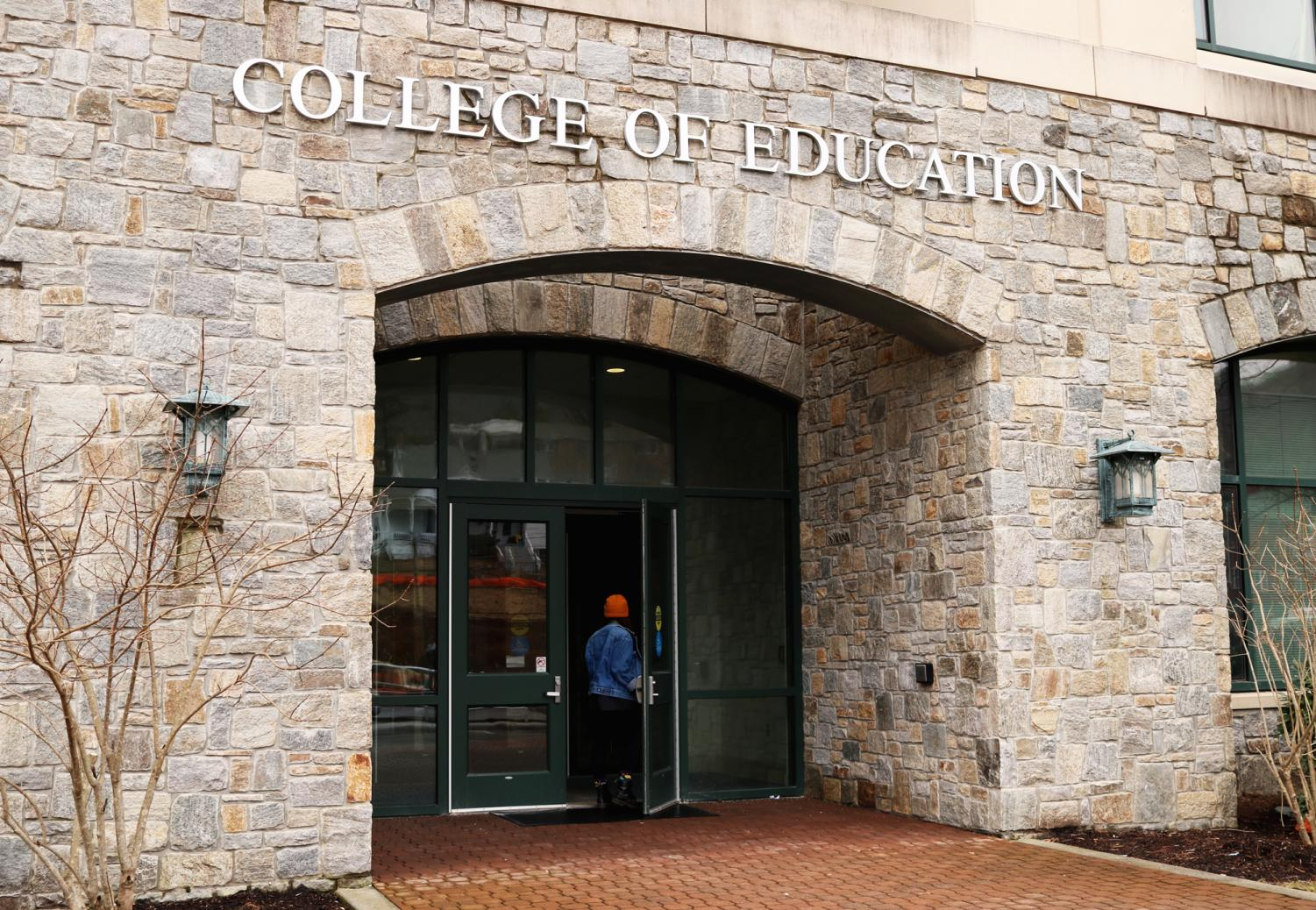 Reich College of Education, where education scholars take their classes. App State was ranked first in the nation for the most alumni certified for the National Board of Professional Teaching Standard.