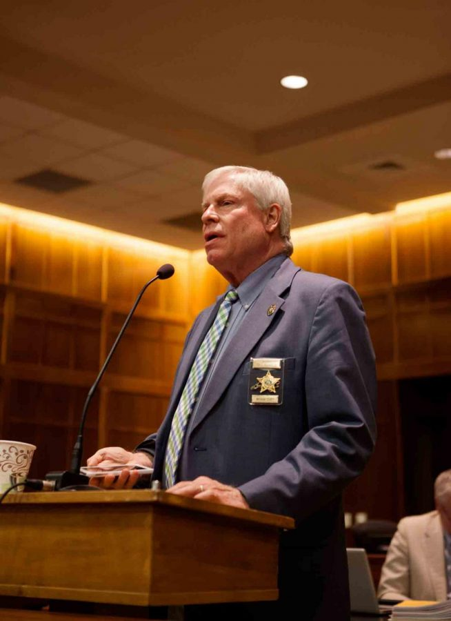 Len Hagaman has been the sheriff of Watauga County since 2006. Hagaman says the the county is looking in the Law Enforcement Assisted Diversion to reduce the number of repeat offenders in the detention center.