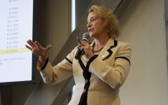 Faculty express salary concerns to Chancellor Sheri Everts