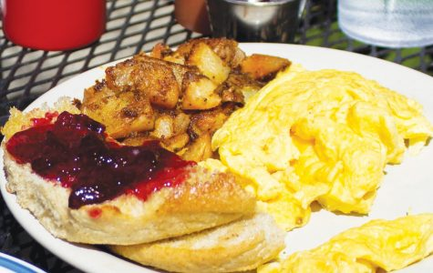 A breakfast dish from Melanie's Food Fantasy. Melanie's prides itself on using as much local produce as possible, even in the Winter. Courtesy of Dallas Linger.