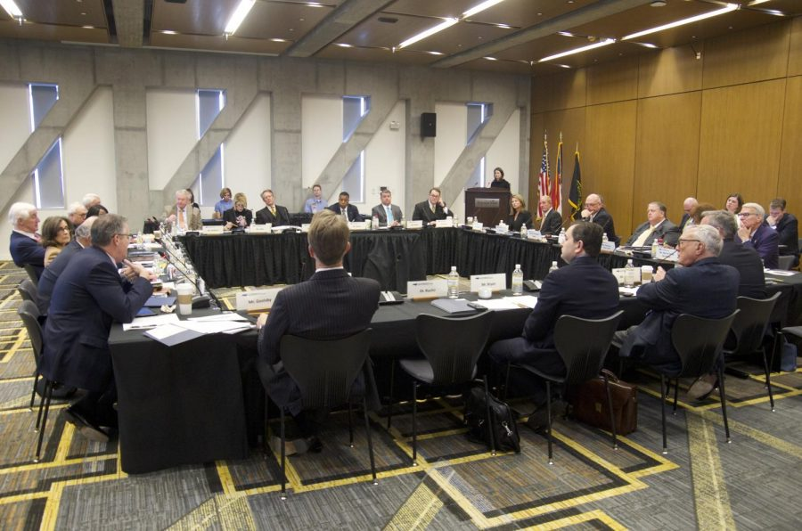 The Board of Governors met on App States campus on March 21 and 22.
