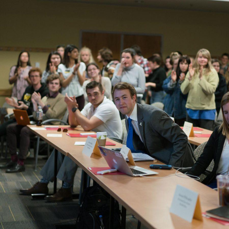 SGA Senate President Pro-Tempore plans to run for student body president