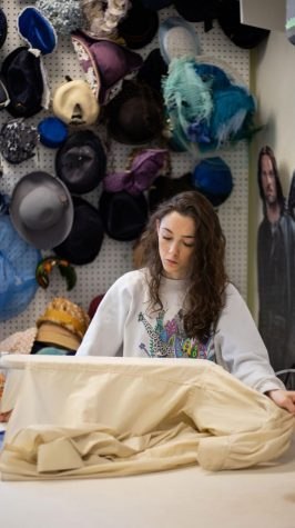 Department of Theatre and Dance shop hires students to make costumes for productions