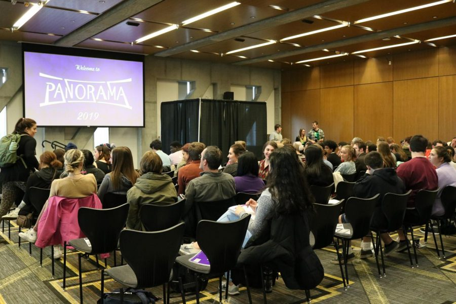 Panorama is a yearly event put on by the University's Communication department. This year, seven students are featured, they gave speeches on topics that they care about.