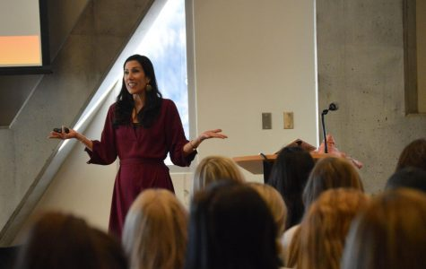"""Motivational speaker brings """"sorority girls can change the world"""" message to App State"""