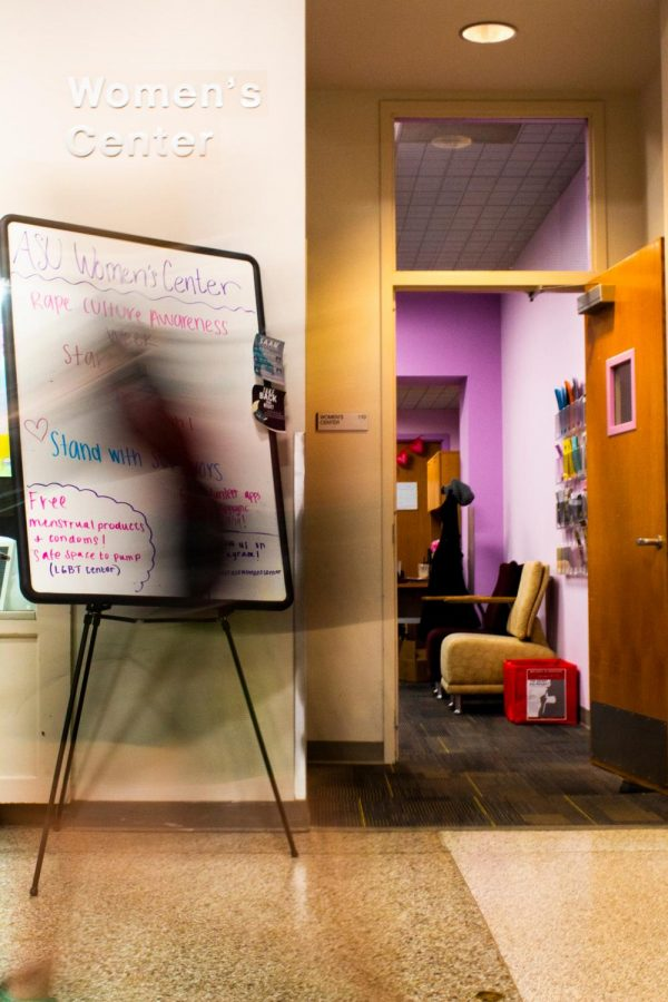 The Women's Center is currently hosting Rape Culture Awareness Week in its Plemmons Student Union location. It is the only completely volunteer run Women's center in the state of North Carolina, according to its website.