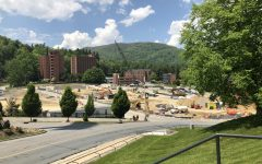 West Campus parking deck on schedule for August opening
