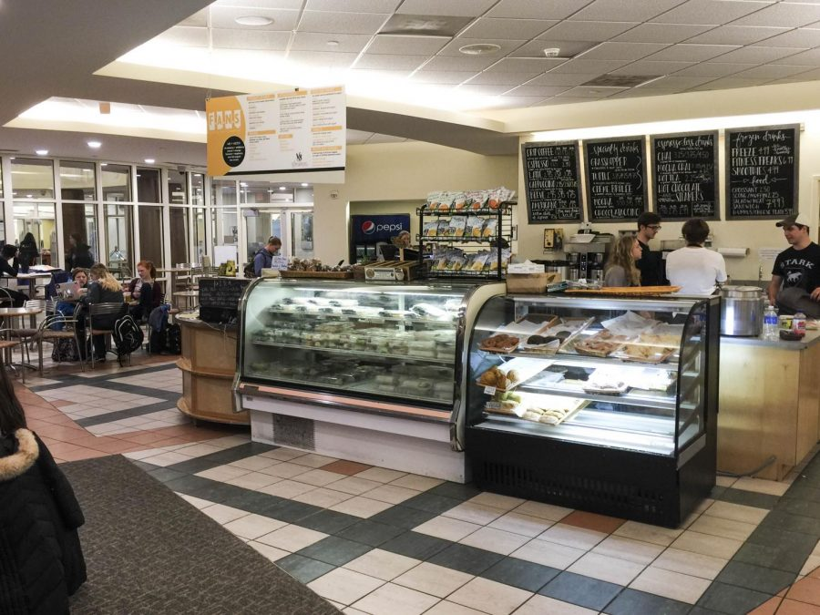 Wired Scholar, located in Belk Library, is one of two coffee shops recently acquired by Campus Dining. Campus Dining hopes only to make aesthetic changes to the spaces.