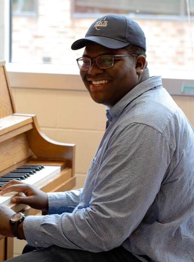 Sophomore Sterling Wilson is in the process of starting a campus Chapter of Musical Empowerment. The club would provide music lessons to children in need.