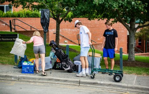 Move-in day brings new faces to campus