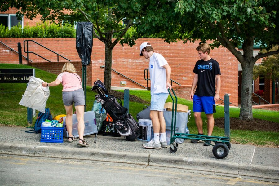 Construction in Stadium Lot limited both driving and parking availability, which posed a challenge for students moving into West Campus residence halls in 2019. This was the last