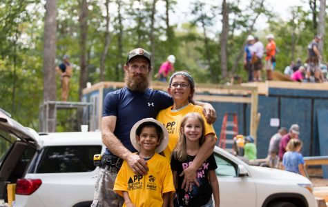 Hard hats and hammers lend a helping hand to local family in Blitz Build