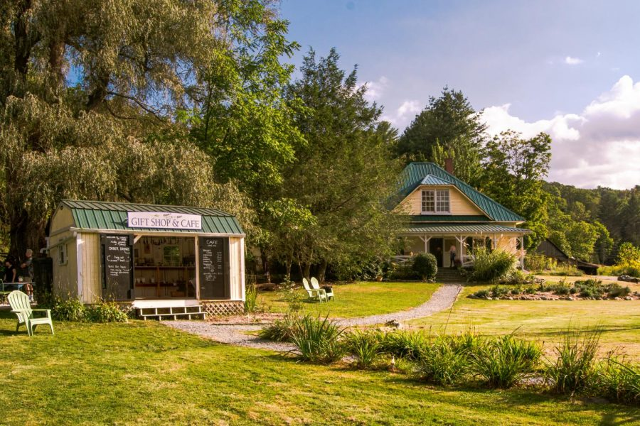 The Lavender House is a gift shop and Airbnb that is located in Banner Elk.