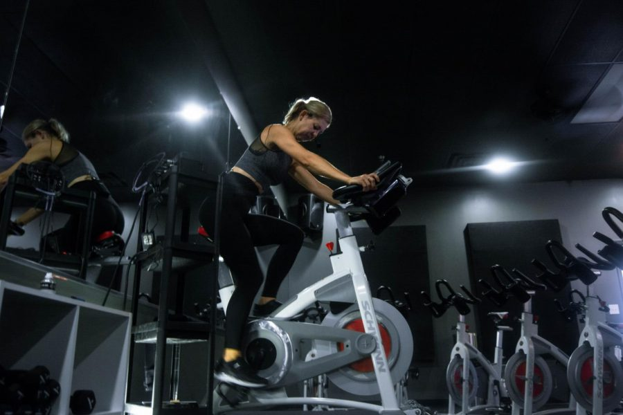 The Revolution cycling studio opened its doors on September 23 and after only four days open, owner Greyson Summens host her first full class.