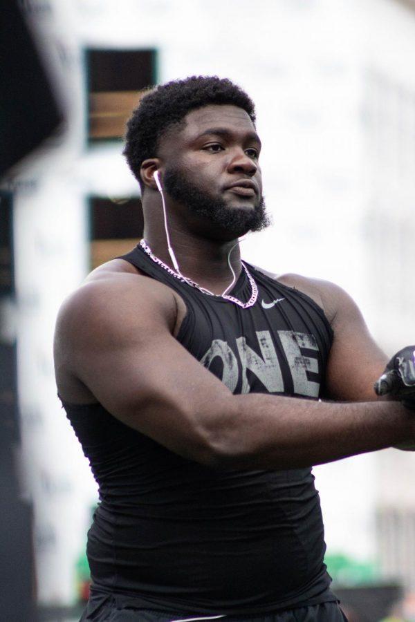 Junior defensive lineman Demetrius