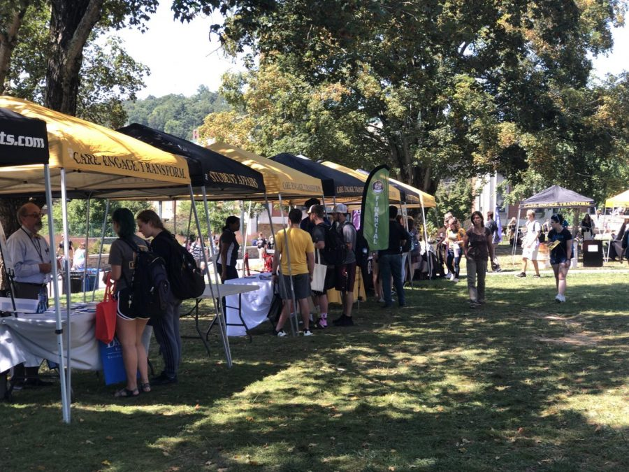 Health, Wellness and Safety Week brought resources and extra information to App State students.