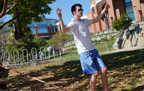 Sanford Mall provides a community space for sunny days