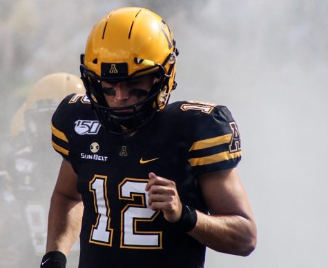 Heading into his 2020 senior season, App State QB Zac Thomas holds a 23-3 career record since being named QB1 before the Penn State season opener in 2018. Thomas takes the field before App State