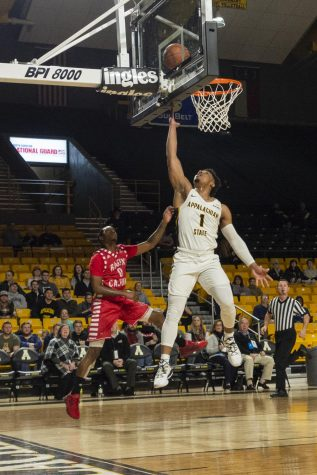 Graduate transfer tennis player settles into new home at App State
