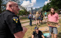 Students protest Appalachian Police Officer Development Program