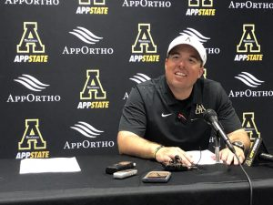 Drinkwitz shares thoughts ahead of Sun Belt Championship against Louisiana