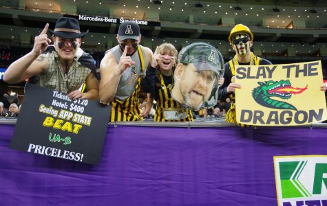 App nation showed up strong to cheer on the Mountaineers in their fifth straight bowl win. App State beat UAB 31-17 in the New Orleans Bowl on Dec. 21.