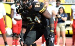 Senior linebacker Akeem Davis-Gaither has had quite the career in his time playing for the Mountaineers. After his breakout junior season with 105 stops, Davis-Gaither currently has 76 and will likely be a major contributing player to the team's success in the postseason.