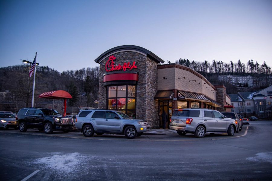 The Chick-fil-A located at 2082 Blowing Rock Road recently put an end to its