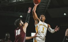 Mountaineers struggle offensively, fall to Little Rock 73-57