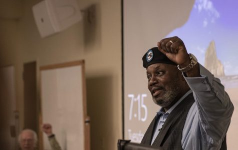 Original Black Panther Party member from Winston Salem visits App State