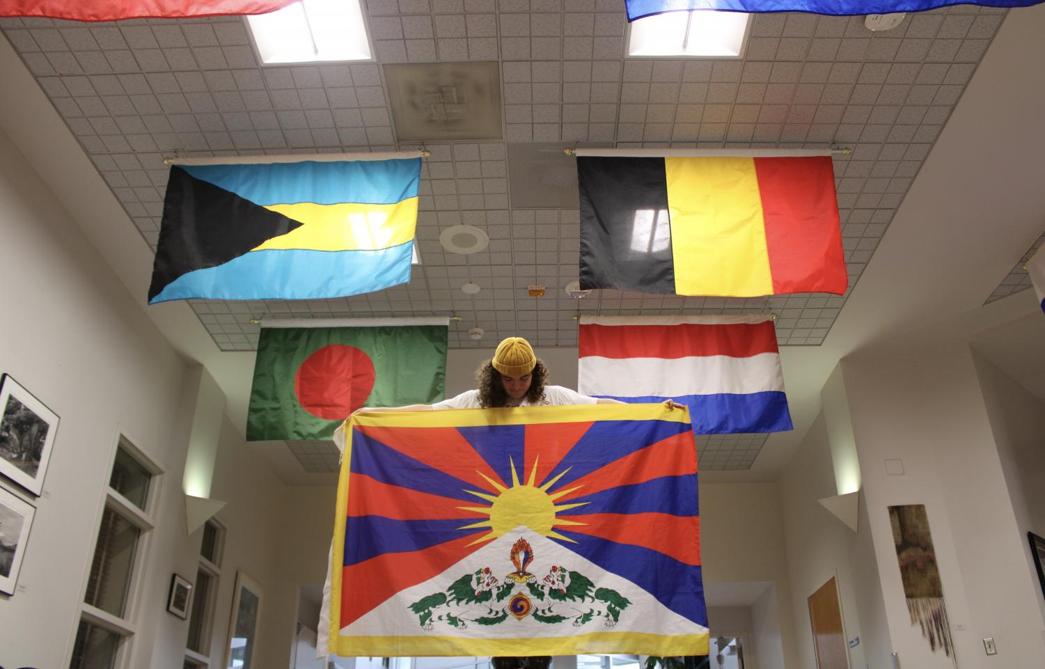 Junior sustainable development major Justin Marks is an advocate for justice in Tibet, which is currently under Chinese Rule. Marks is starting the club