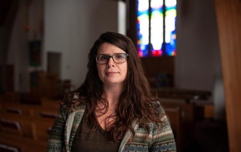 Stacey Troisi works as a campus minister for Grace Evangelical Lutheran Church. Troisi feels that