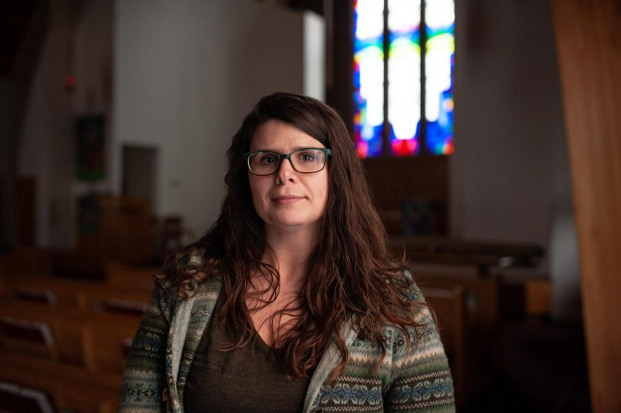 Stacey+Troisi+works+as+a+campus+minister+for+Grace+Evangelical+Lutheran+Church.+Troisi+feels+that+%22less+and+less+people+are+joining+the+church%2C+and+more+and+more+people+are+leaving+the+church%2C%E2%80%9D+and+that+going+to+church+might+not+be+%22as+important+as+it+used+to+be.%E2%80%9D