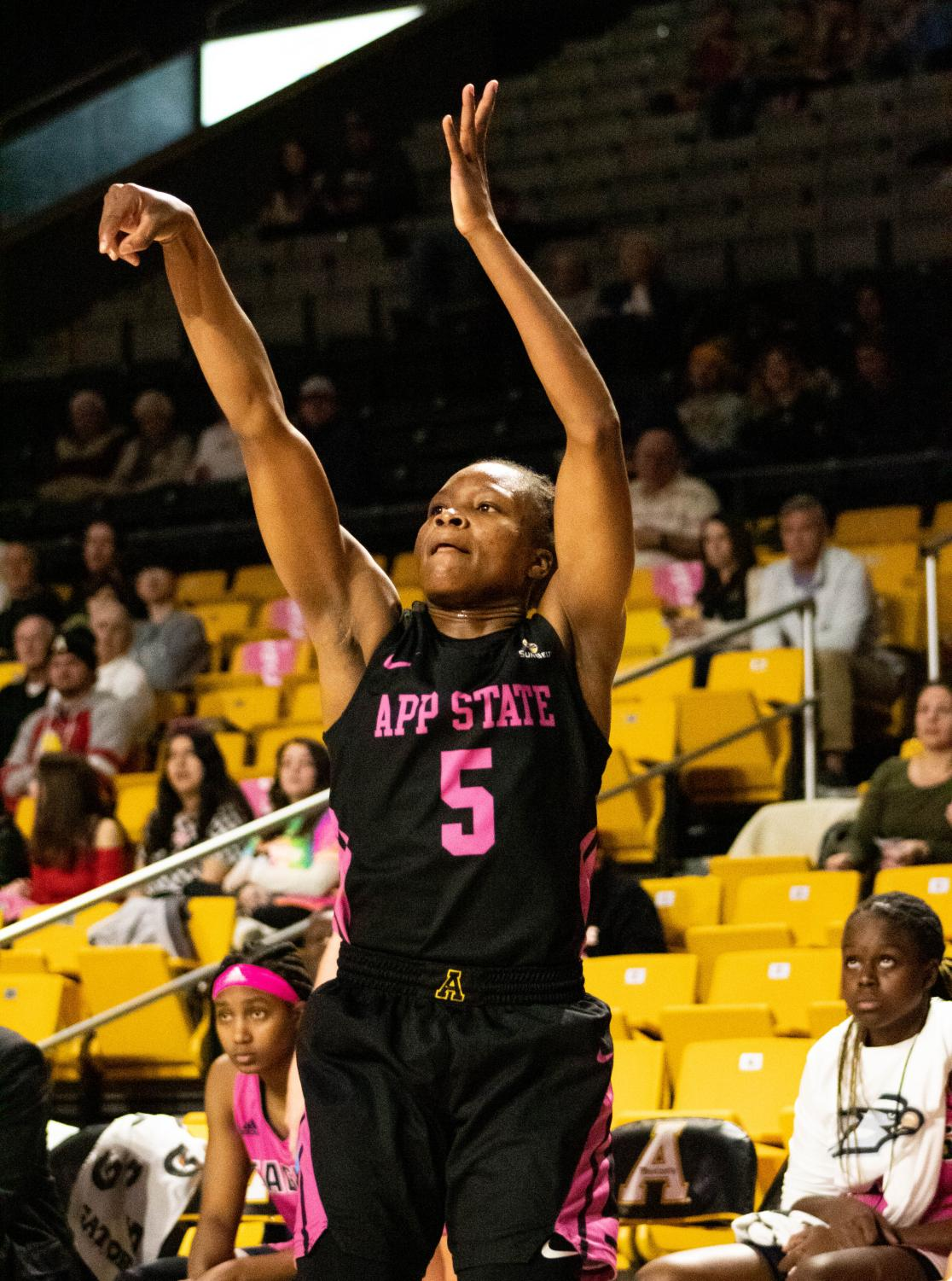 Junior guard Pre Stanley led all scorers with 19 points on 9-of-12 shooting in App State's 71-59 win over South Alabama on Feb. 13.