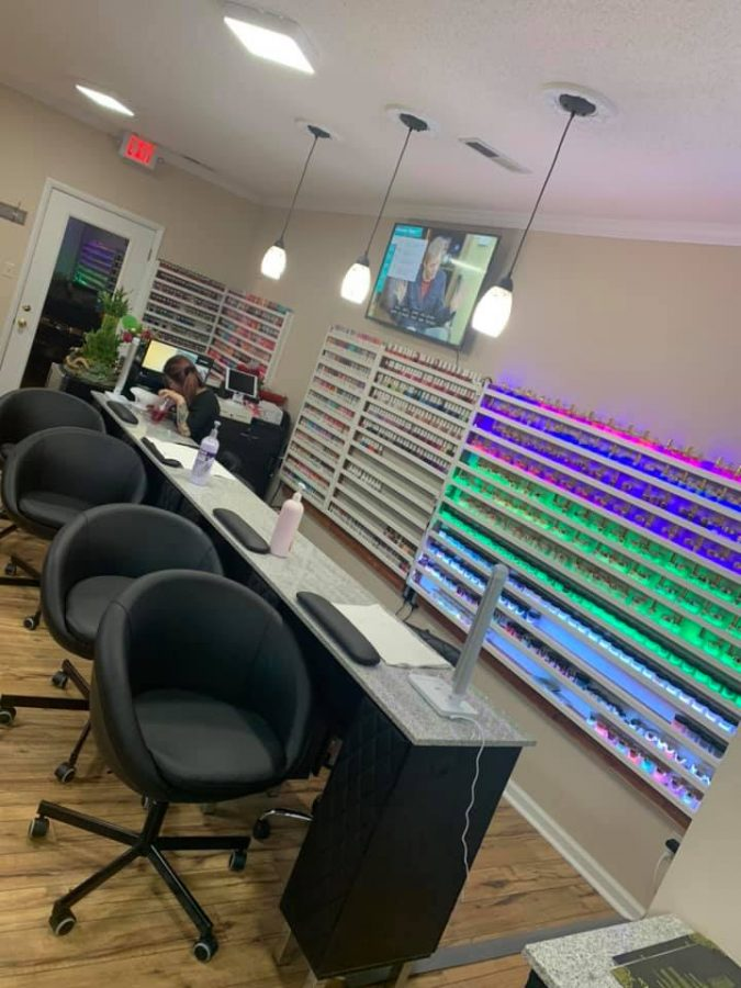 Appalachian Nails is located on the NC Highway 105 Extension and hopes to bring more options for nail care to Boone. Pictured is the inside of its salon.
