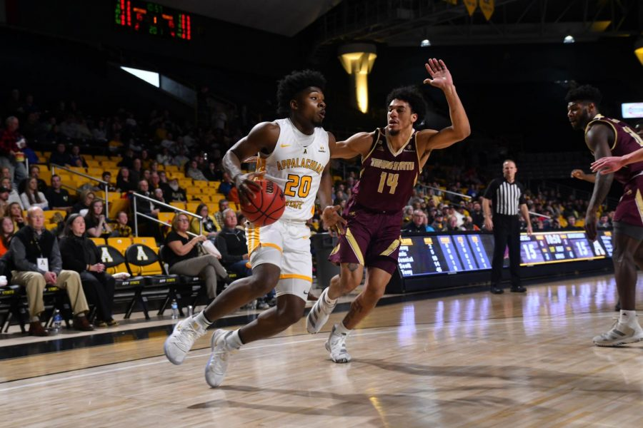 Sophomore guard Adrian Delph set a new career-high with 21-points in a comeback 62-57 win at Georgia Southern on Feb. 15.