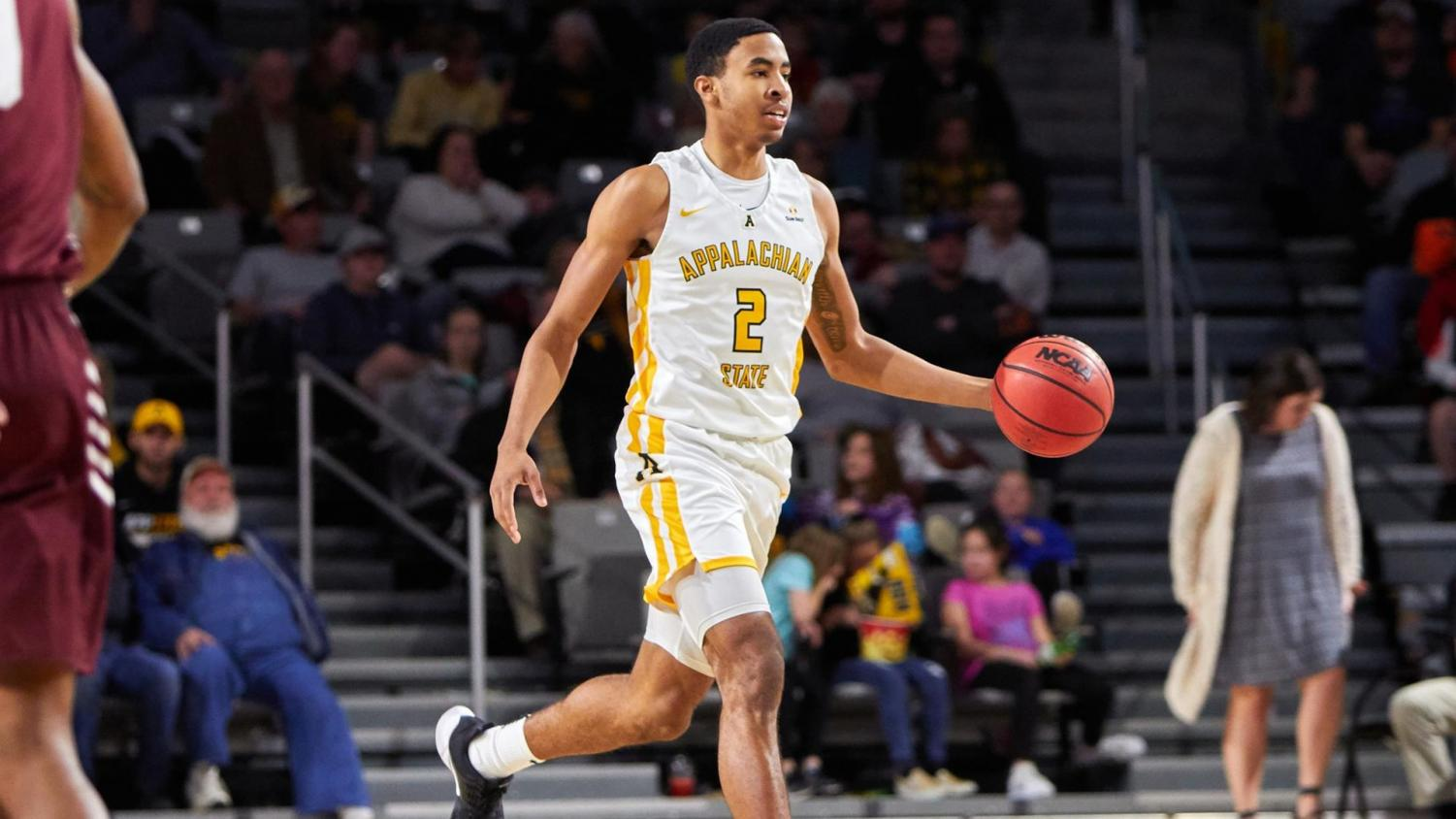 Freshman wing Kendall Lewis scored a career-high 24 points and grabbed seven rebounds in App State's loss at Georgia State on Feb. 13.