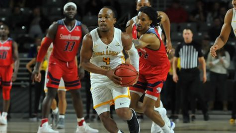 App State struggles on offense, falls 78-70 against South Alabama