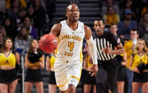 Senior guard O'Shown Williams finished with a career-high 25 points in App State's 57-50 win over UT-Arlington on Thursday night.