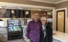 Jim and Kathy Kozak are the owners of Boone's newest espresso cafe, Talia Espresso. This is the Kozak's second location, expanding their goal of bringing