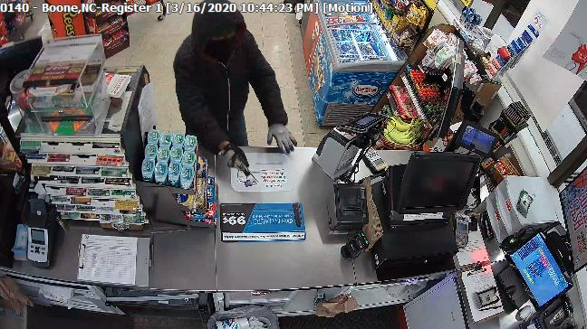 Boone police search for two men involved in alleged Circle K gas station robbery